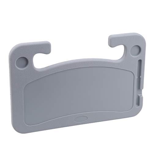 Schwenly Driver Car Tray Desk, Universal-Getränkehalter Beistelltisch Tablet Car Desk Caddy für Drive Thru Dinner,Grau