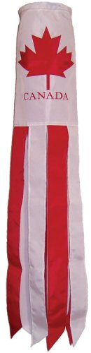 In the Breeze Canada Flag Windsock, 40-Inch