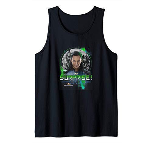 Thor: Ragnarok Group Shot Surprise! Loki Returns Tank Top
