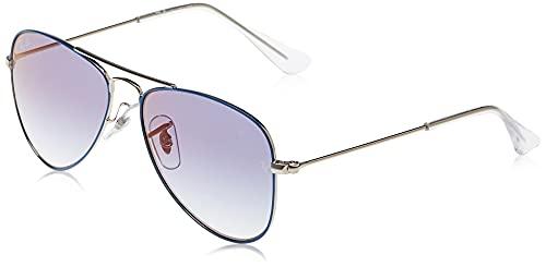 Ray-Ban 0RJ9506S Gafas de Sol, Silver On Top Light Blue, 50 Unisex