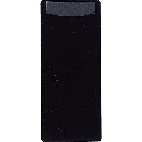 マグネットクリップ付 バインダー(小)【BH-44】黒[えいむ 伝票ホルダー 伝票ばさみ お会計クリップ]