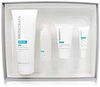 Neostrata Sensitive Skin Antiaging Kit: Restore Cleanser, Restore Face Cream, Restore Face Serum, Restore Eye Cream 4pcs