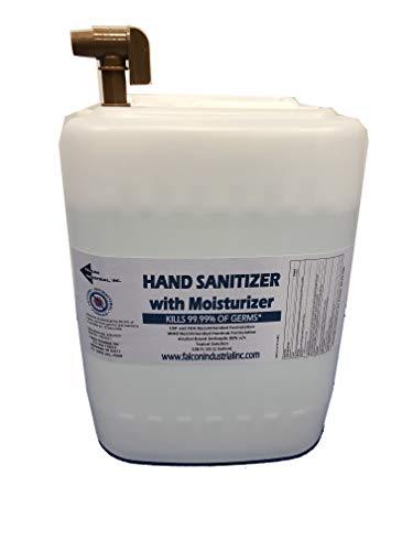 Benchmark Hand Sanitizer - Instant Disinfectant - 5 Gallon Pail