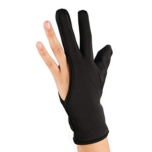 guante 3 dedos glove fingers protector calor plancha pelo