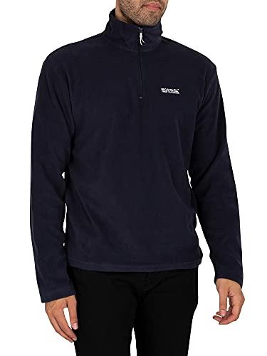 Regatta Thompson Herren Fleece Jacke, Blau (Navy), 50 EU (Herstellergröße: M)