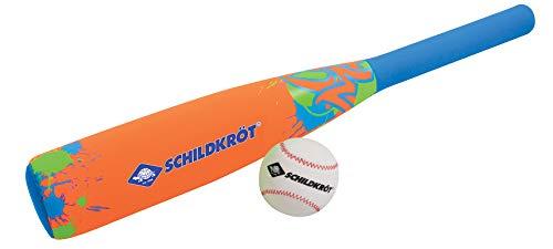 Schildkröt Funsports Schildkröt Soft, 1 Schläger, 1 Ball, Normale Grösse, weich, Schaumstoff, für Kinder und Familie, Neopren Baseball Set, 970224,
