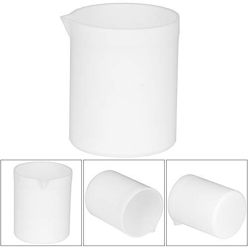 Juego de vasos de plástico duradero, vaso de precipitados. Vaso de precipitados PTEE de 250 ml / 100 ml / 50 ml para uso en experimentos de laboratorio(250ml)