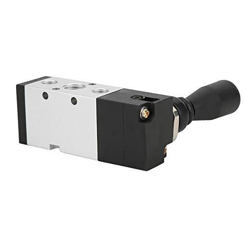 Válvula de diafragma de dos posiciones, válvula de mano aleación de aluminio hecha de temperatura normal