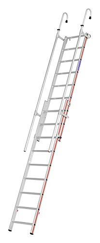 HYMER 609215 Einhänge-Schiebeleiter, 2x9 Sprossen