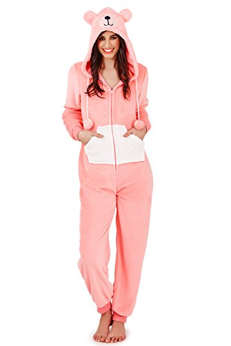 Bernie The Bear Onesie - Jumpsuit Damen mit Ohren