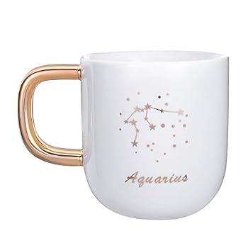 white and gold mugs