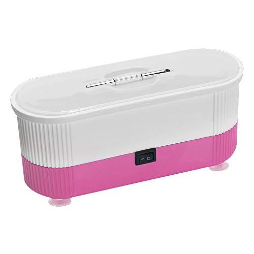 otutun Mini Ultraschallreinigungsgerät, Mini Ultraschallreiniger Ultraschall Reiniger Ultrasonic Cleaner Ultraschallbad Reinigungsgerät für Zahnersatz Uhren Schmuck (Rosa)