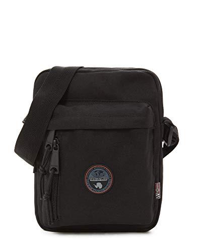 Napapijri Bags Borsa Messenger, 24 cm, 9 liters, Nero (Black)