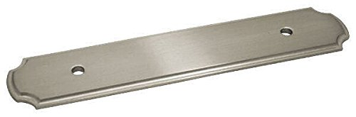 10 Pack - Cosmas B-112-96SN Satin Nickel Cabinet Hardware Handle Pull Backplate/Back Plate - 3-3/4