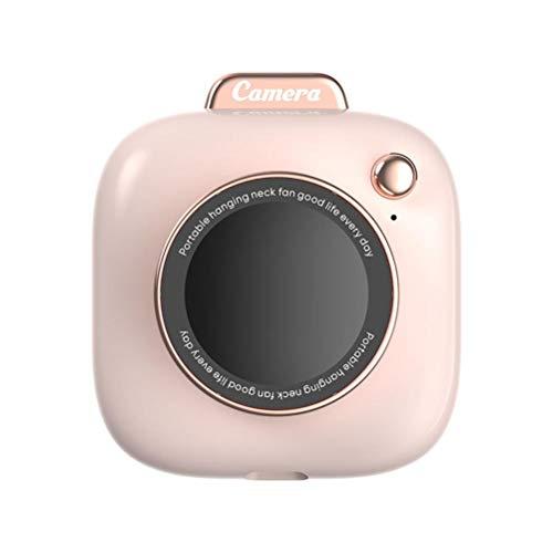 FreshWater Forma creativa de la cámara que cuelga el ventilador del cuello del ventilador portátil de carga USB Mini ventilador de enfriamiento personal al