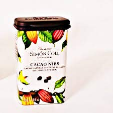 Chocolates Simón Coll Cacao Nibs D/18 U 30 g