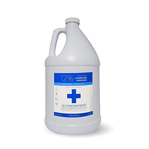Food Grade Hydrogen Peroxide - Super Oxygenated Pure H202 (1 Gallon)
