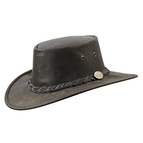 Barmah - Sombrero plegable blando de...