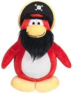 Disney Club Penguin Series 3 Rockhopper Plush Figure - Comes with Coin to Unlock Items Online