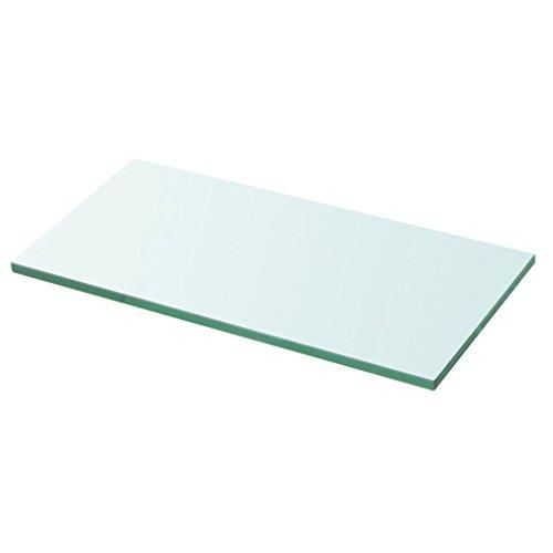 vidaXL Glasboden Glasscheibe Glasplatte für Glasregal Transparent 30 cm x 12 cm