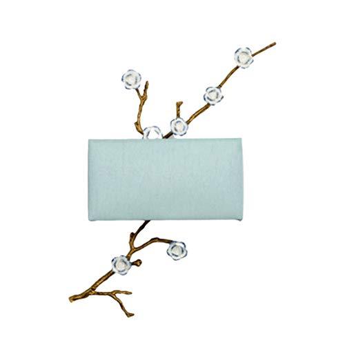 Apliques Nueva lámpara de Pared de la Personalidad Creativa China Cama de Aves de Cobre Moderna Simple Habitación Hotel Corredor Ligero de la Pared Aplique (Color : A)