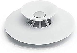 Shower Drain Stopper Floor Drain Rubber Circle Silicone Plug for Shower Bathtub Plug Bathroom Leakage-proof Drain PVC Sink...