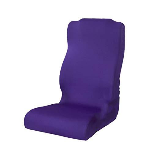 Tubayia Funda elástica para silla de oficina, silla de oficina, silla giratoria, color lila
