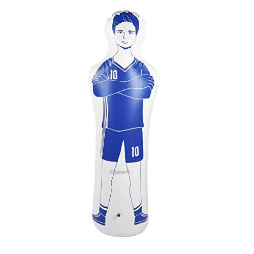 FOLOSAFENAR Maniquí de fútbol con Vaso de PVC, Respetuoso con el Medio Ambiente para la Pared de Entrenamiento de fútbol y Baloncesto(Blue)