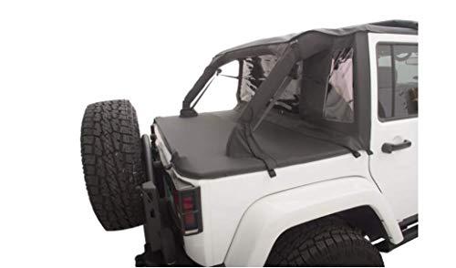 Black Diamond Wrangler YJ /& TJ RAMPAGE PRODUCTS 90035R Windbreaker for 1980-2006 Jeep CJ
