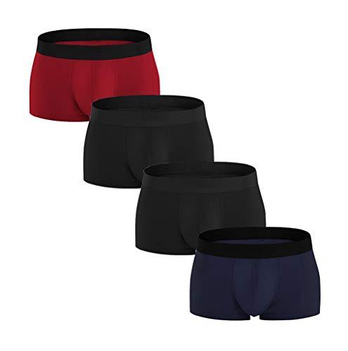 S-2XL 4er Pack Boxershorts männer Unterhosen Herren Hot Mode Bunte komfortable 95{f5a0cf231c88a55c450f07030cbbdf36fb5fd8c84d0a30ffb0343d705300000f} Baumwolle Unterwäsche Übergröße CICIYONER