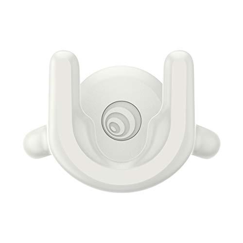 PopSockets: PopMount 2 - Soporte de Manos Libres para Ventilación de Coche No Adhesivo para Teléfonos Inteligentes y Tabletas - White