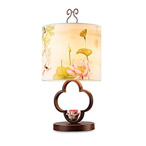 Zhenmu home Nordic Decorativo Creativo Paño de Cristal de la lámpara de Tabla Simple Moderna Caliente Caliente de la Sala Dormitorio Mesita de luz de la lámpara de iluminación