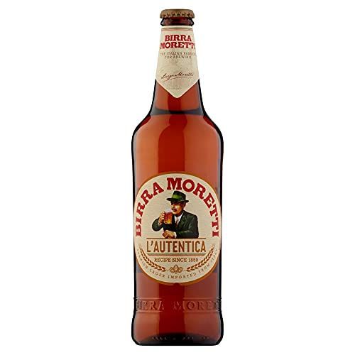 Birra Moretti Birra Bottiglia - Confezione da 15 x 660 ml