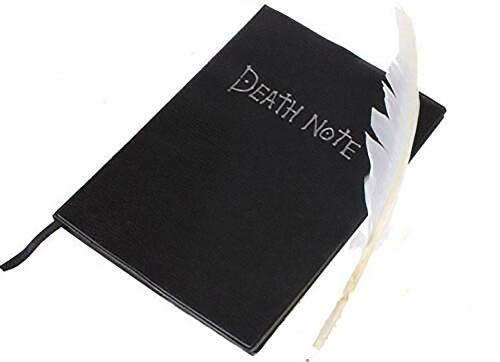 NKYSM Death Note Cosplay Notebook & Feder Stift Buch Animation Kunst Schreiben Journal Schule Büromaterial Lieferungen