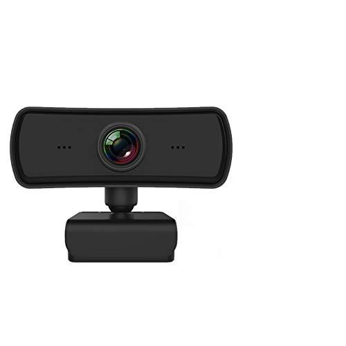 Webcams Telefonía VoIP 400W HD Pixel 2K USB Webcam 1080p AutoFocus cámara Web para la cámara de la computadora Web para la Red Enseñanza Teleconferencia webcast (Color : with Black Holder)