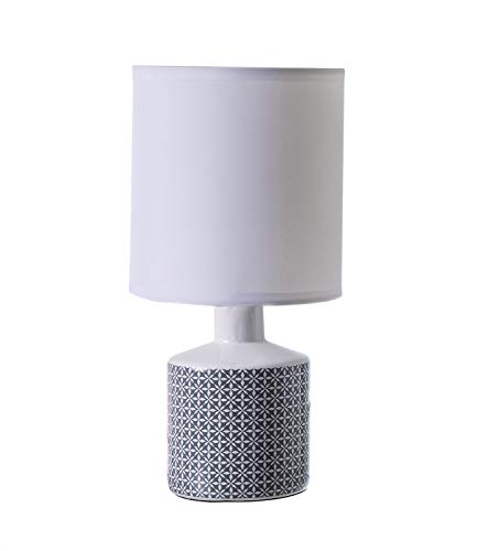 Lussiol 233687 Lampes table et chevet, Gris