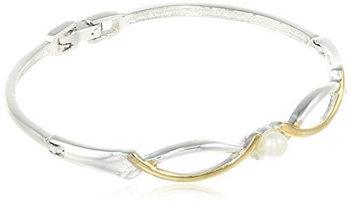 SataanReaper presenta pulsera de oro de 24 quilates y nubes de alegría chapada en plata #SR-1085