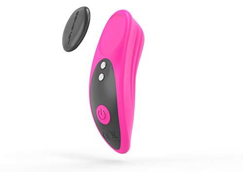 LOVENSE Ferri Mini Magnetic Vibratori per Donna, Portata Remota Bluetooth a Lunga Distanza con Sincronizzazione Musicale, Controllo Partner e App, Impermeabile