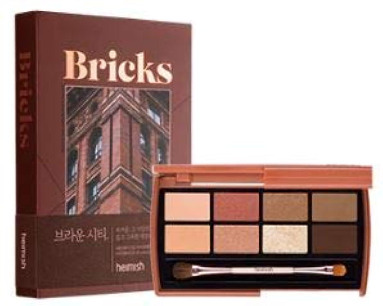 絶望的なアクセント織機[Heimish] Dailism Eye Palette # Brick Brown / [ヘイミッシュ] デイリズム アイ パレット #ブリックブラウン [並行輸入品]