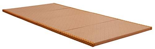 MustMat Japanese Tatami Mat Traditional Futon Mattress Rattan Firm and Folds Easily 35.4'x78.7'x1.2' (1 Piece)