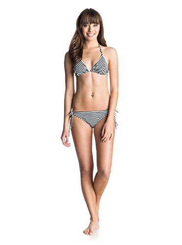 Roxy Damen Bikini-Set Gr. Größe L, Schwarz - Love Struck True Black
