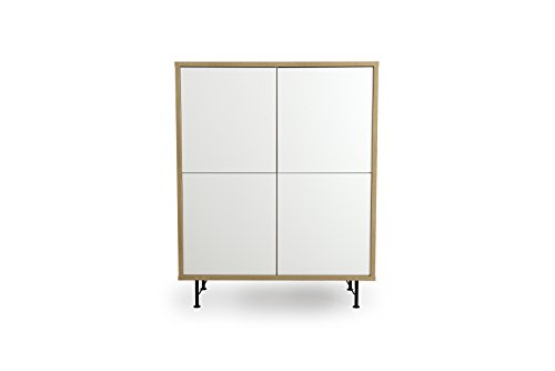 Tenzo 2864-678 Flow Highboard 4 Türen,