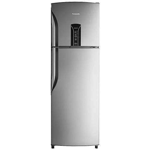 Refrigerador Panasonic NR-BT42BV1X Frost-Free 387L SE 220v aço escovado