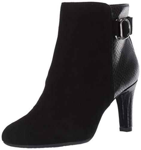 Bandolino Footwear Women's Lanna Ankle Boot, Black Multi, 6.5 M US