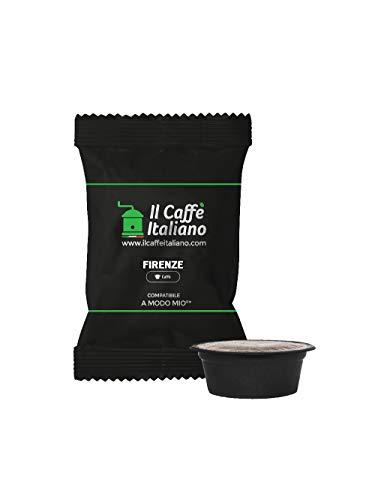 FRHOME - Lavazza a Modo Mio 100 Càpsulas compatibles - Il Caffè Italiano - Mezcla Firenze Intensidad 8