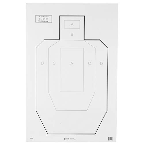 ACTION TARGETS IPSC-P IPSC Paper TRGT 100 Pack