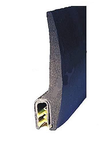 EUTRAS Dichtungsprofil KSD2153 Türgummi Kofferraumdichtung  – Klemmbereich 2,0 – 4,5 mm - schwarz - 3 m