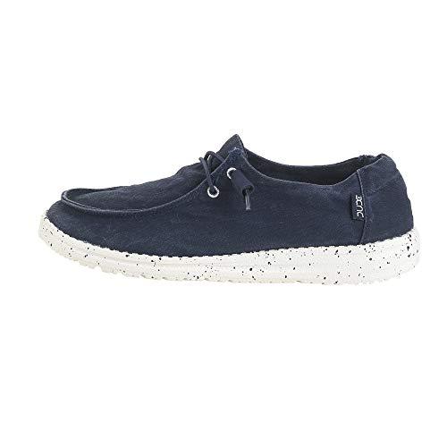 Dude Shoes Frauen Wendy Gewaschenen Marine UK8 / EU41