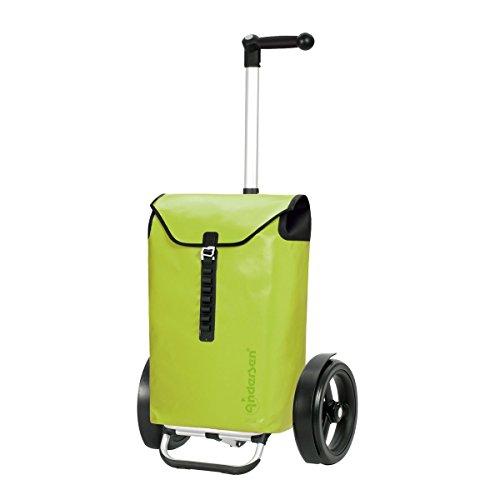 Andersen, Carro de compra Tura Ortlieb limón, volumen 49L, 3 años de garantía, Made in Germany