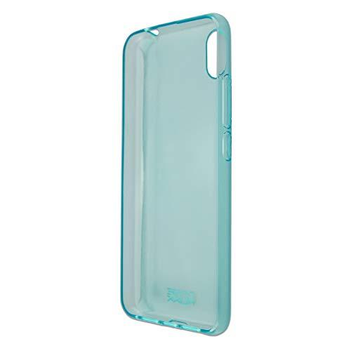 caseroxx TPU-Hülle für Gigaset GS110, Handy Hülle Tasche (TPU-Hülle in blau)
